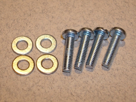 Gimbal screws and washers